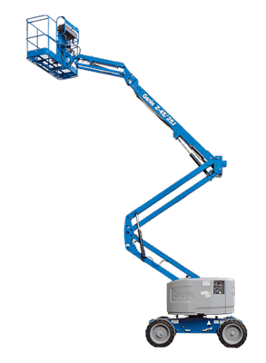 Self-propelled aerial platforms - boom lifts