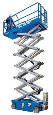 Self-propelled aerial platforms - scissor lifts
